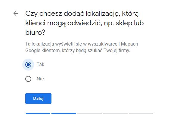 wizytówka google agent ubezpieczeniowy